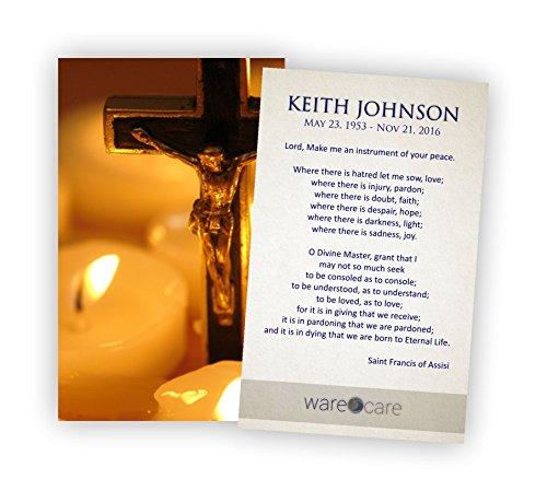 Funeral Prayer Card - 1