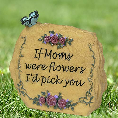 BANBERRY DESIGNS Mom Message Stone Rock 3 1/2