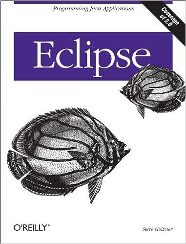 Amazon com: Eclipse: Programming Java Applications eBook