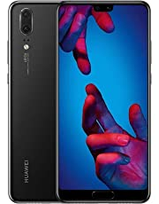 Huawei P20 128 GB 5.8-Inch FHD+ FullView Android 8.1 SIM-Free Smartphone, Single SIM, UK Version - Black