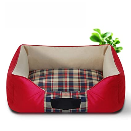 DSADDSD Pet Nest Kennel Cama para Perros Totalmente Lavable Four Seasons Dog Mat Bite Suministros para
