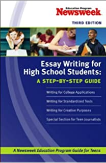 amazoncom essay writing for high school students   essay writing for high school students a stepbystep guide