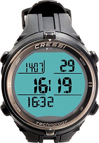 Cressi Drake Titanium Freedive Wrist Computer - Black/Pink