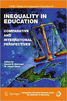 Book Inequality in Education: Comparative and International Perspectives (CERC Studies in Comparative Education) (2010-12-09)