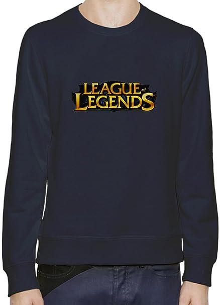 League of Legends Logo Sudadera Hombres Mujeres XX-Large: Amazon.es: Ropa y accesorios