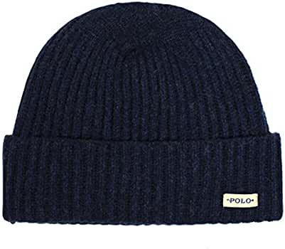 823e2b39308 Amazon.com  Polo Ralph Lauren Men s Merino Wool Cuffed Beanie Cap ...