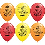 6 DISNEY PLANES FIRE & RESCUE LATEX BALLOONS Kids Birthday Party Decorations & Party Supplies