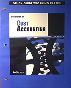 principles of cost accounting study book by edward j vanderbeck rh thriftbooks com cost and management accounting study guides cost and management accounting study guides