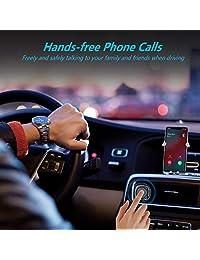 Tunai Firefly Chat receptor Bluetooth AUX El adaptador de audio inal/ámbrico Bluetooth m/ás peque/ño del mundo para transmisi/ón de m/úsica est/éreo de coche y llamadas manos libres /…