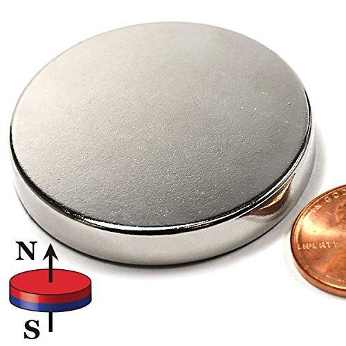 CMS Magnetics Super Strong Neodymium Disc Magnet Dia 1.5x1/4