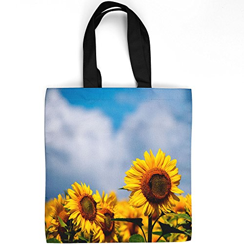 Sunflower Seeds Sowing (Westlake Art - Sunflower Plant - Tote Bag - Picture Photography Shopping Gym Work - 16x16 Inch (D41D8))