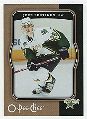Jere Lehtinen (Hockey Card) 2007-08 O-Pee-Chee # 163
