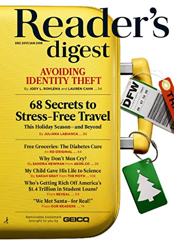 Reader's Digest - Newspaper Magazine