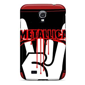 First-class Case Cover For Galaxy S4 Dual Protection Cover Metallica