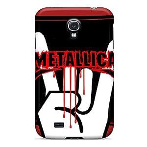 ErleneRobinson Samsung Galaxy S4 Durable Hard Phone Cases Custom Stylish Metallica Series [Jsj15609BvWx]