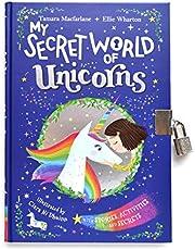 My Secret World of Unicorns: lockable story and activity book
