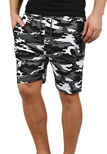 Court Jogging Short solid Grey Pantalon Pour Bermuda Dark Taras Sweat Camouflage Homme c2890 En X1w05xUn40