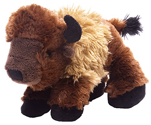 Wild Republic Bison Plush, Stuffed Animal, Plush Toy, Gifts for Kids, Hug'Ems 7
