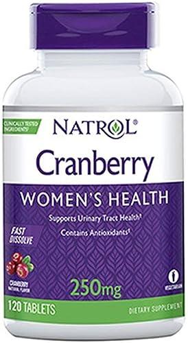 Natrol Cranberry 250 Milligram Fast Dissolve