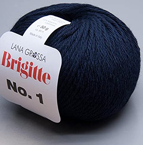 Lana Grossa Brigitte No. 1   007 / 50g Wolle