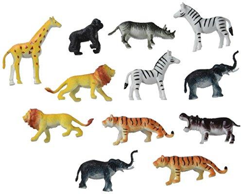 Darice 1029-13 Plastic Jungle Animals - 2