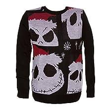 Nightmare Before Christmas - Jack Christmas Adult Sweater - X-Large