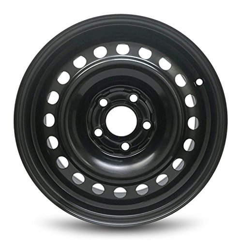 Road Ready Car Wheel For 2012-2014 Toyota Camry 16 Inch 5 Lug Steel Rim Fits R16 Tire - Exact OEM Replacement - Full-Size Spare