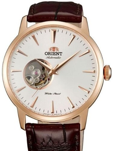 Orient Esteem 21-Jewel Automatic Dress Watch with Leather Strap - 21 Automatic Jewel