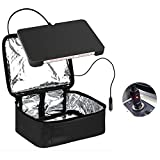small 12v microwave - Food Warmer Personal Portable Mini Oven Electric Lunch Warmer For 12V Car ,Truckers,Outdoors Travel, Camping,Black