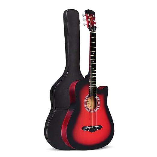 BAIYING Guitarra Acústica Concierto Guitarra De Viaje Sonido ...