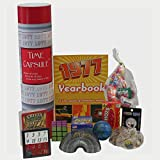 The 1977 Time Capsule is an entertaining 40th birthday gift for those born in 1977. Display it at a 40th birthday party to keep everyone guessing what is inside. Each item included has a clever meaning for the person celebrating his or her 40...