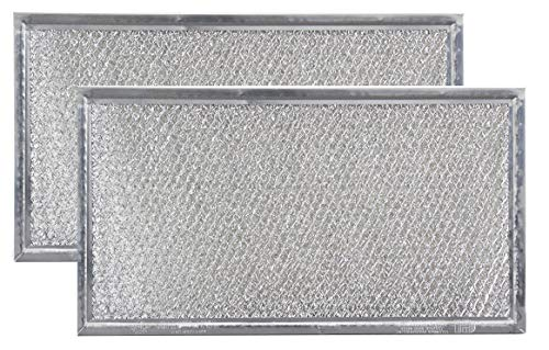 (Replacement Microwave Grease Filters Compatible with Whirlpool 8206229A - 5-7/8 x 10-5/8 x 3/32-2 Pack)
