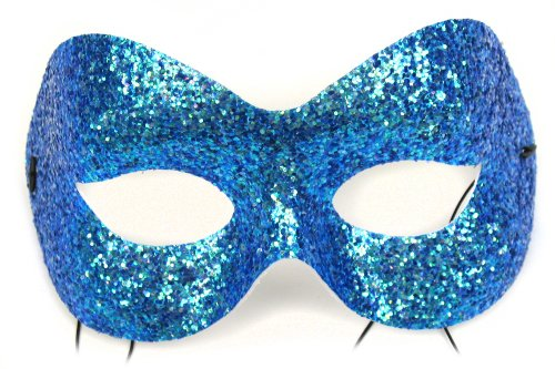 Fashion Glitter Turquoise Women's Masquerade Mask
