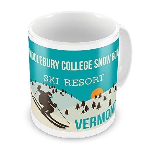 Coffee Mug Middlebury College Snow Bow Ski Resort - Vermont Ski Resort - NEONBLOND