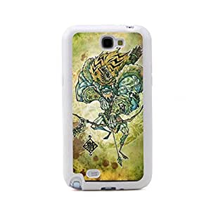CaseCityLiu - Hunter Chinese Zombie Myth 3D Design White Bumper Plastic+TPU Case Cover for Samsung Galaxy Note 2 II N7100