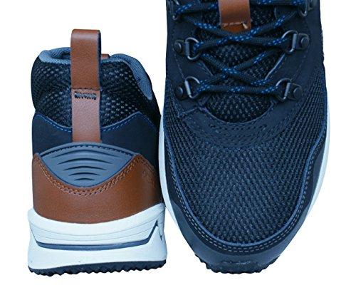 Sneaker Mid Merrell Alte Marrone Uomo Stowe M Carbone qnpn6Zt