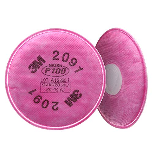 3M Particulate Filter 2091/07000 AAD , P100