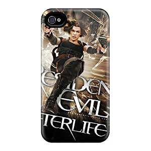 Premium Tpu 2010 Resident Evil Afterlife 3d Cover Skin For Iphone 4/4s