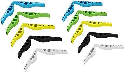 pont de nez en silicone Accessoire pour emp/êcher les lunettes de bu/ée et anti-bu/ée en silicone pour le nez 10