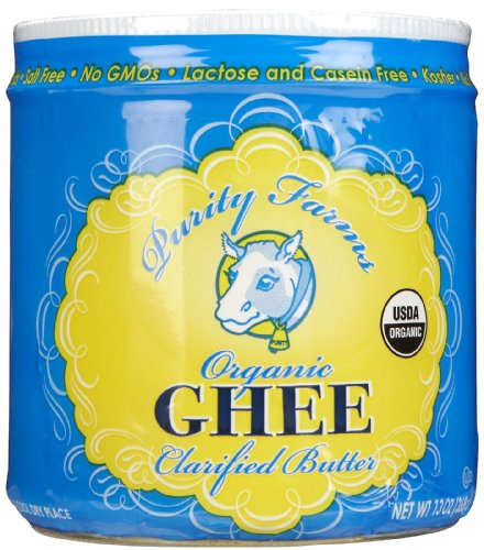 Ghee, 95% organic, Clarified Butter, 13 oz ( Multi-Pack) by Purity Farms (Image #1)