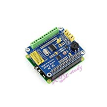 CooWind Raspberry-Pi Onboard ADS1256 DAC8532 High-Precision AD/DA Expansion Function Supports Raspberry Pi 1/2/3 Model A+ B+ B @CooWind