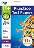 Letts 11+ Success – 11+ Practice Test Papers (Get ahead) for the CEM tests inc. Audio Download