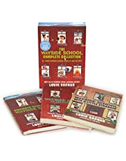 The Wayside School 3-Book Box Set: Sideways Stories from Wayside School, Wayside School Is Falling Down, Wayside School Gets a Little Stranger