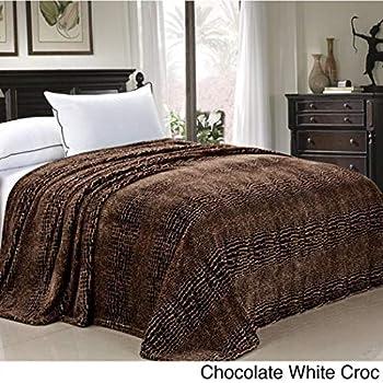 Amazon Com 1 Piece African Chocolate Brown Crocodile