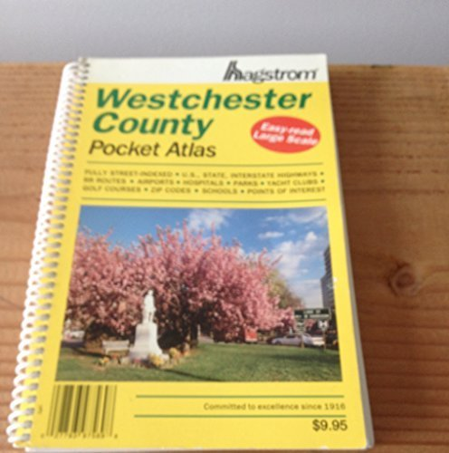 Westchester County Pocket Atlas by Hagstrom Map Company - Westchester Shopping
