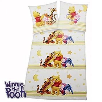 Bettwäsche Winnie The Pooh Ia Ferkel Tigger Baumwolle 135x200 Disney