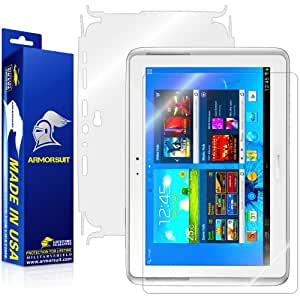 ArmorSuit MilitaryShield - Samsung Galaxy Note 10.1 Screen Protector Shield + Full Body Skin Protector & Lifetime Replacements