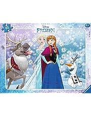 Ravensburger Barnpussel – 06141 Anna och Elsa – rampussel för barn från 4 år, Disney Frozen pussel med 40 bitar