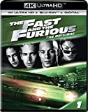 The Fast and the Furious Cover - 4K Ultra HD Blu-ray, Digital HD