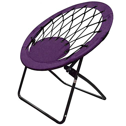 Impact Canopy Bungee Chair, Portable Folding Chair, Web, Purple